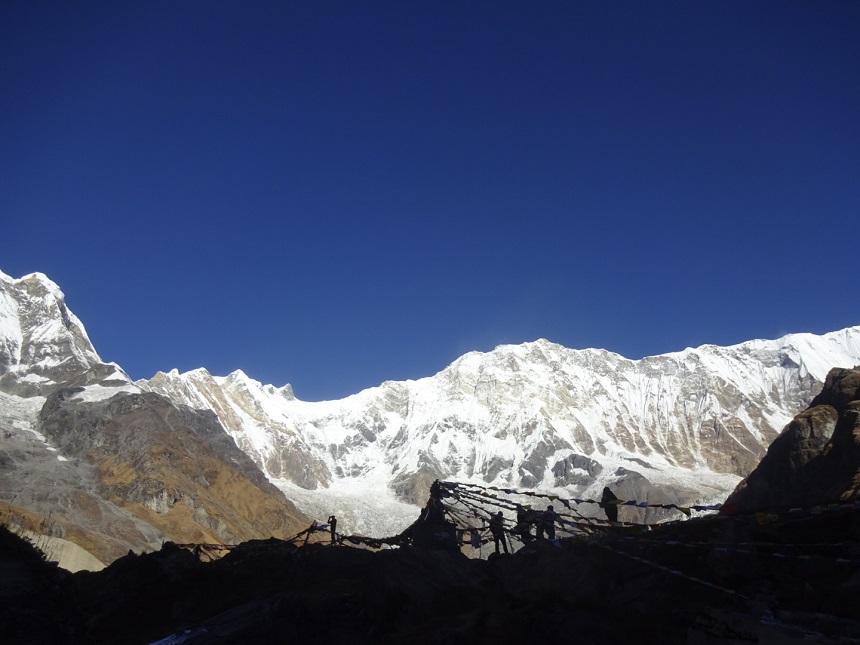 tibetaanse gebedsvlaggetjes nepal