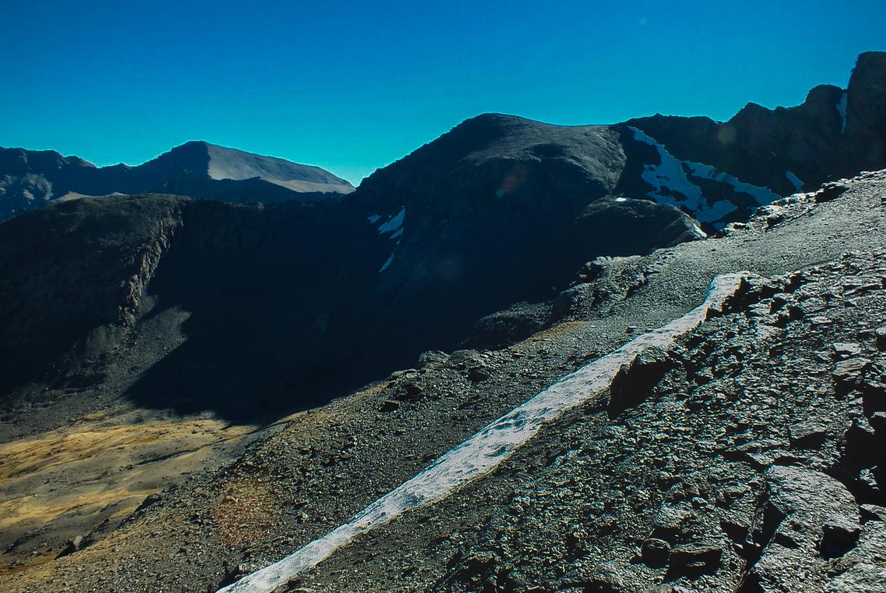 Sneeuwgrens Mount Mulhacén