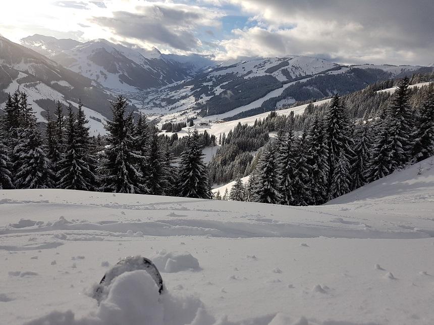 Prachtige vergezichten in de Pinzgauer Grasbergen