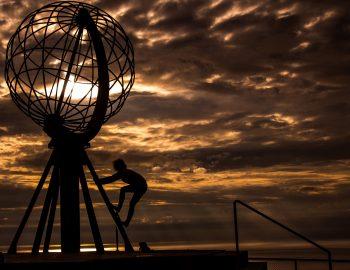 Naar de Noordkaap in de Middernachtzon