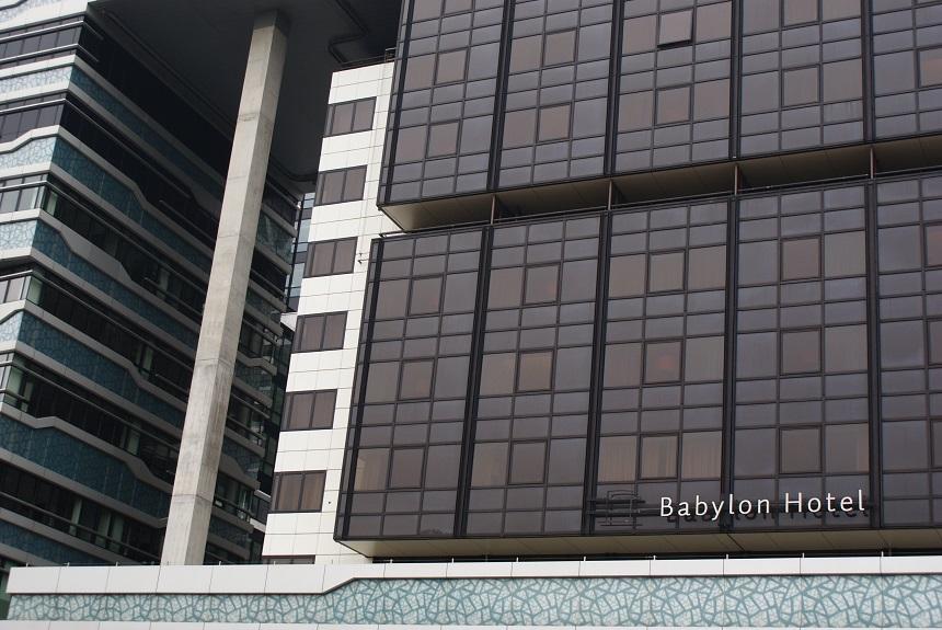 Hotel Babylon buitenaanzicht