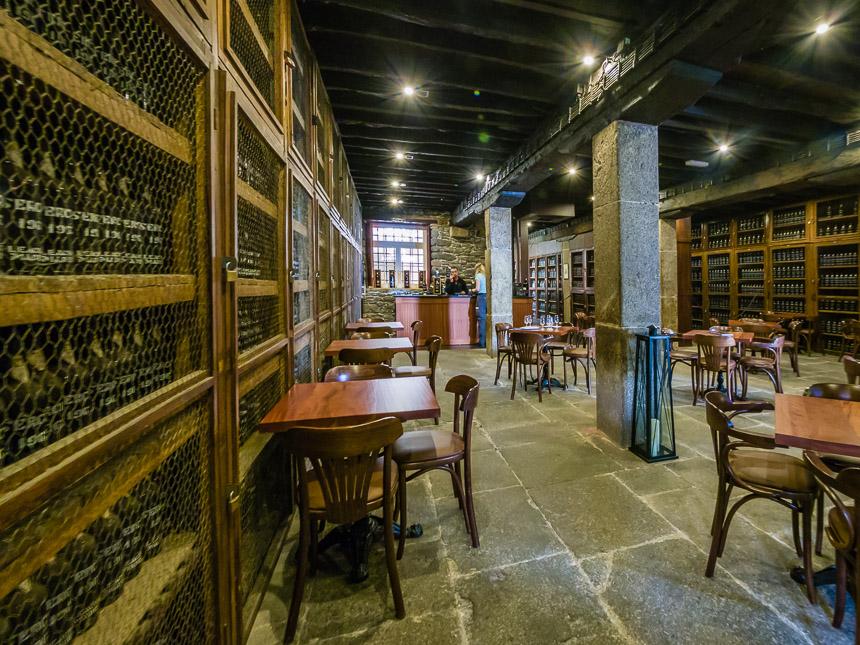 Cafe van de Blandy wijnmakerij, Funchal, Madeira
