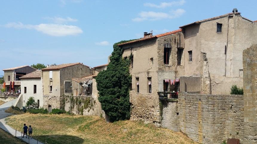 De bovenstad van Carcassonne
