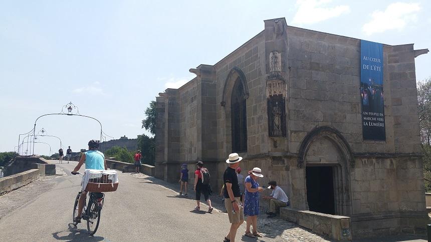 De Pont Neuf aan de rivier de Aude