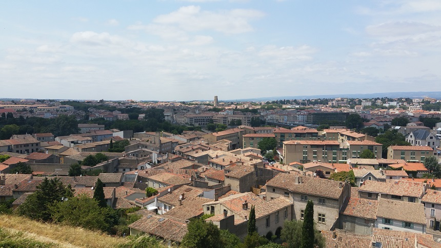 De benedenstad van Carcassonne, laVille Basse