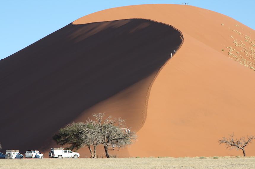 Dune 45 in de Sossusvlei in Namibië