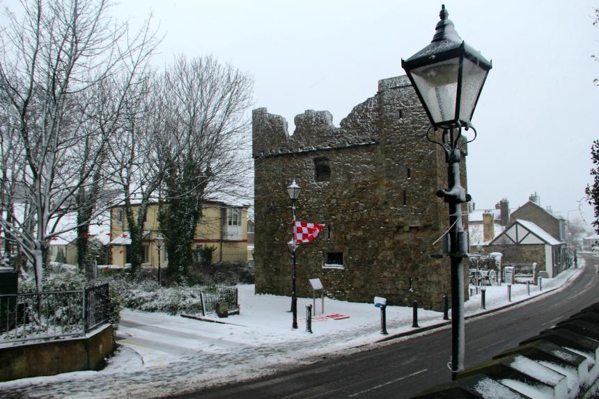 Dalkey Castle buiten Dublin
