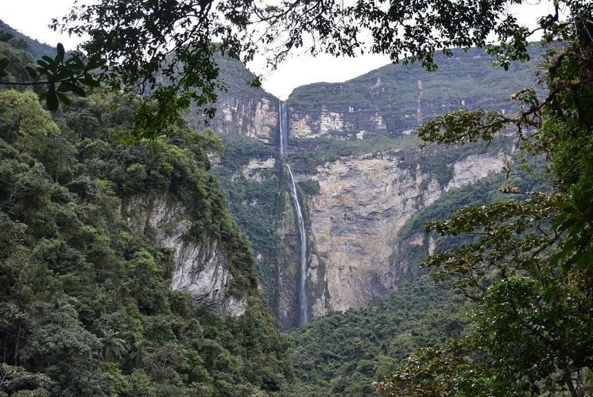 Gocta 5e hoogste waterval ter wereld Chachapoyas Peru