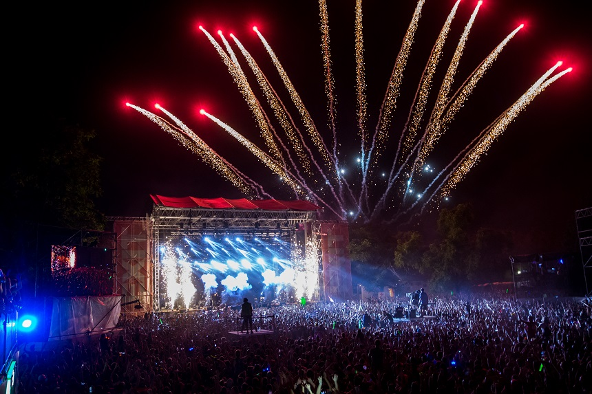 Hardwell op EXIT festival