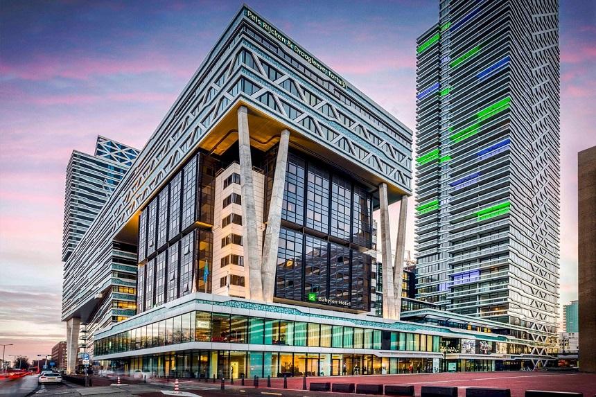 Hotel Babylon Den Haag, foto van het Babylon hotel