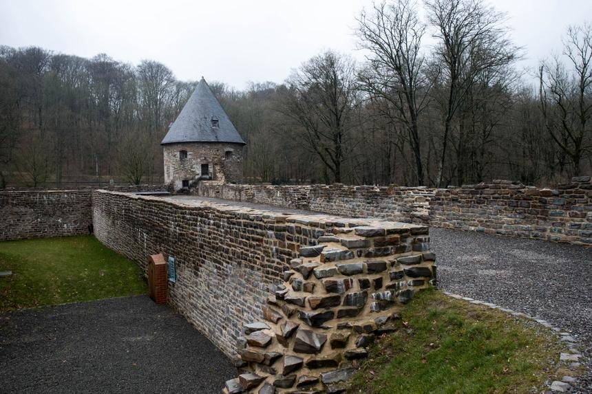 Toren van Slot Hardenberg in Velbert-Neviges