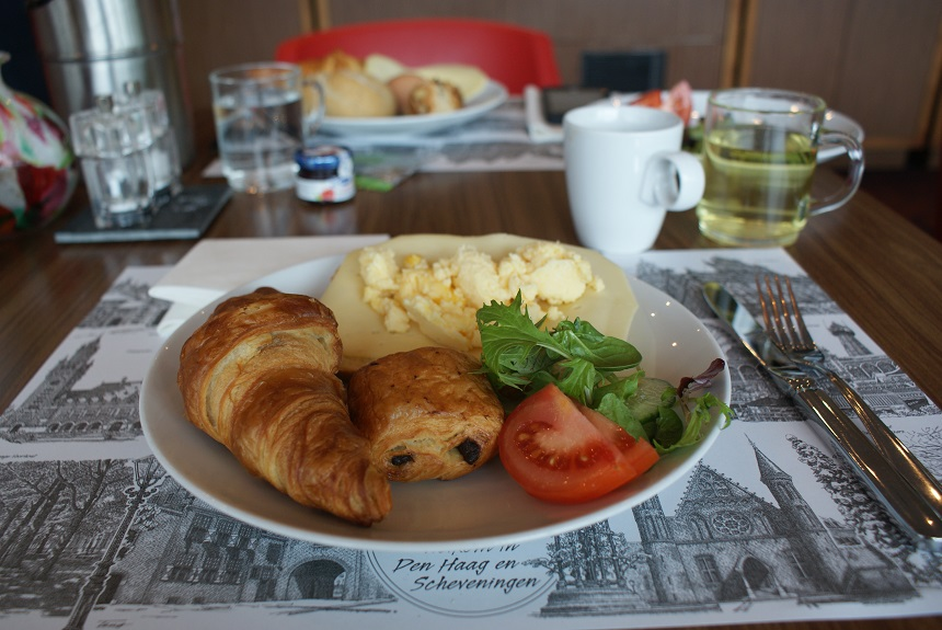 Ontbijt Babylon hotel