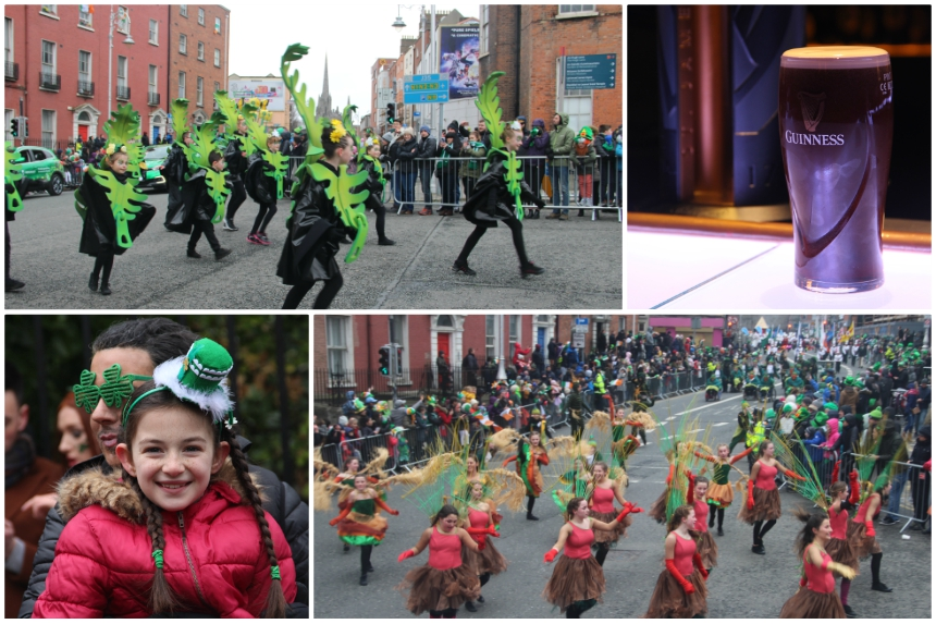 Vier St. Patrick's Day in Dublin