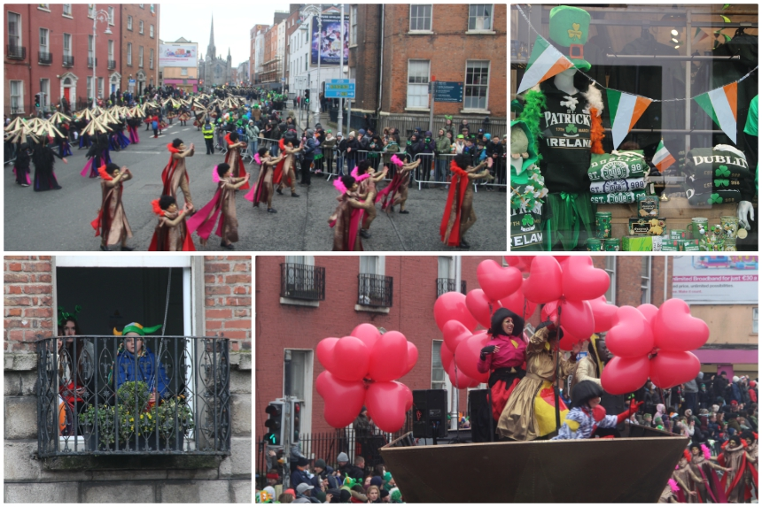 Vier St. Patrick's Day in Dublin, Ierland