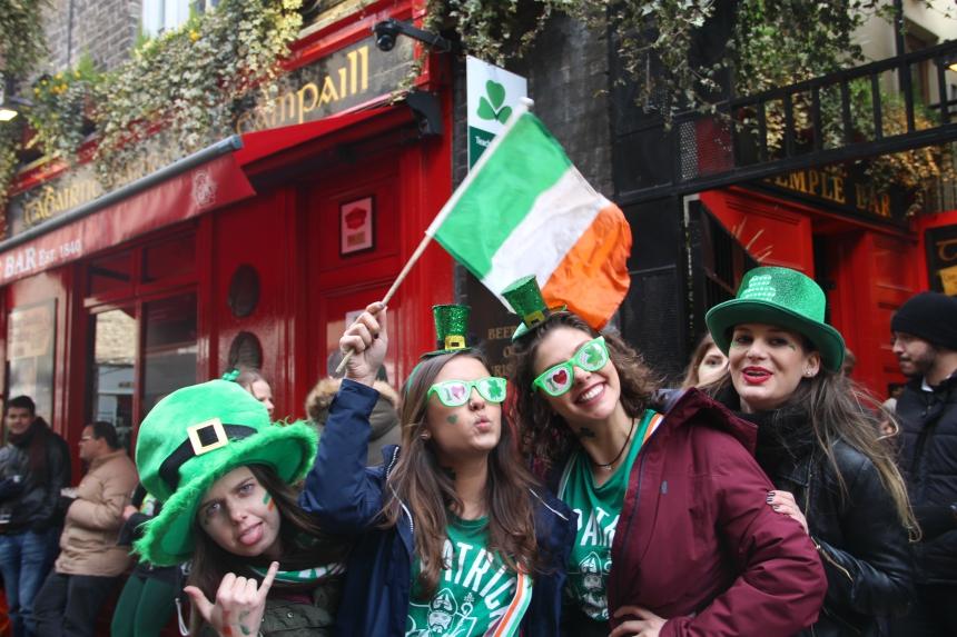 St .Patrick's Day vieren in Dublin, Ierland: bucketlist material!