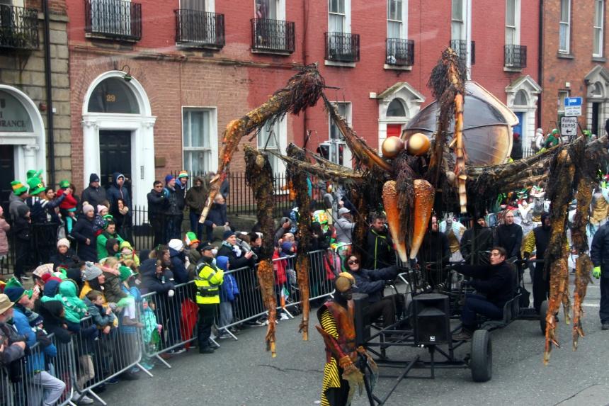 St. Patrick's Day in Dublin: Koningsdag meets Carnaval
