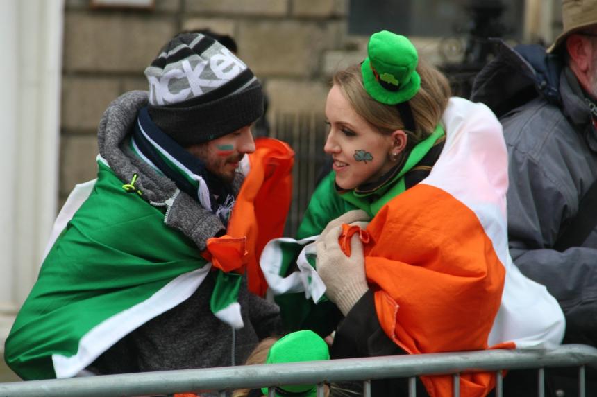 Vier St. Patrick's Day met de Ieren in Dublin