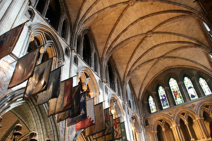 St. Patrick's Cathedral is de grootste kathedraal van Ierland