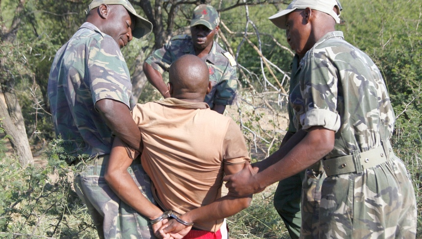 De anti-poaching patrouilles werken echt. Hier in Limpopo, Zuid-Afrika.© Zute Lightfoot