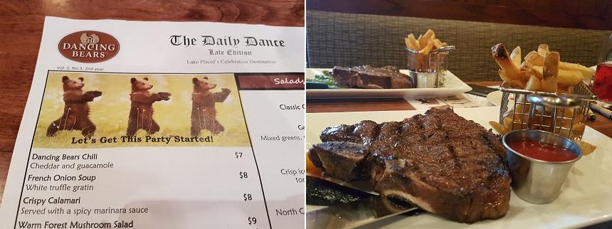 Uit eten bij The Dancing Bears