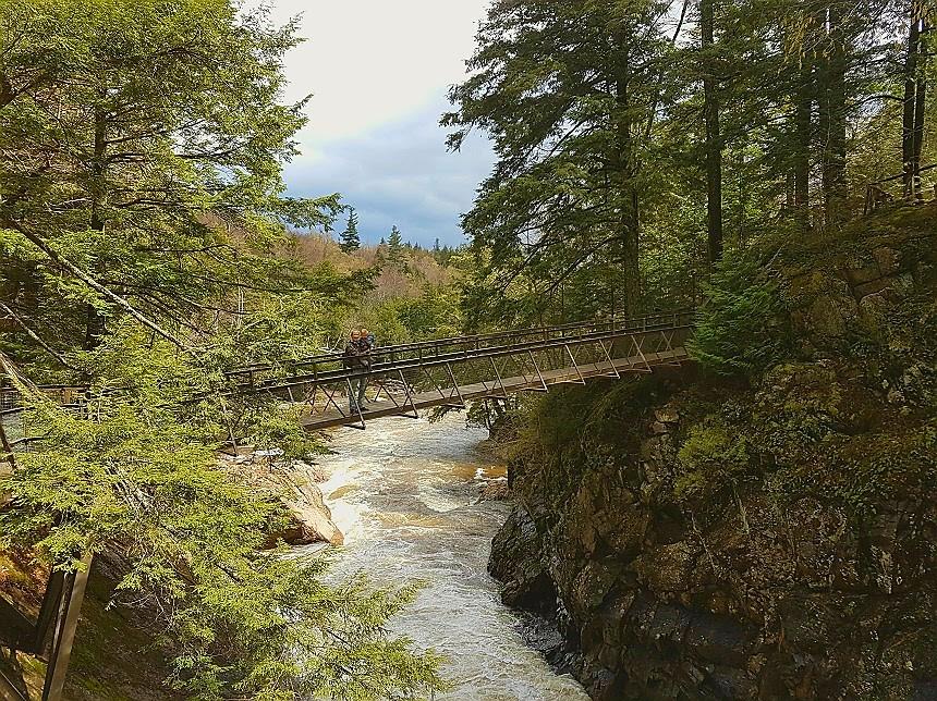 High Falls Gorge brug