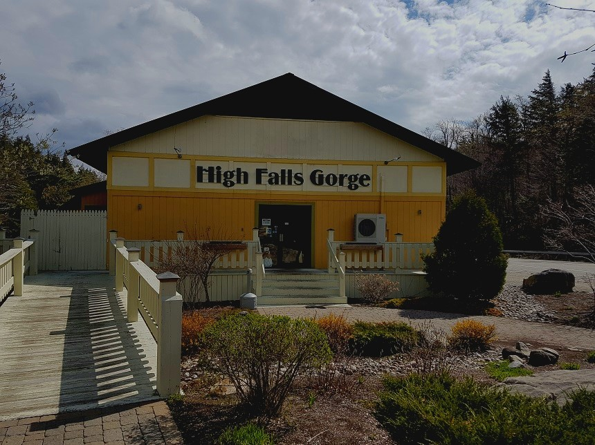 High Falls Gorge visitor centre