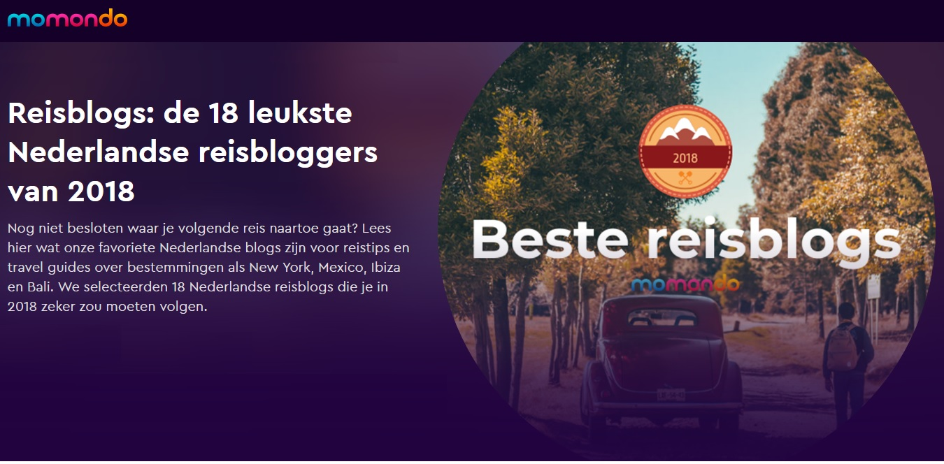 leukste nederlandse reisblogs