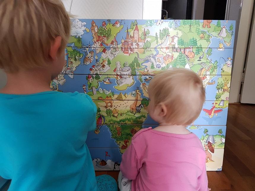 wereldkaart kinderen