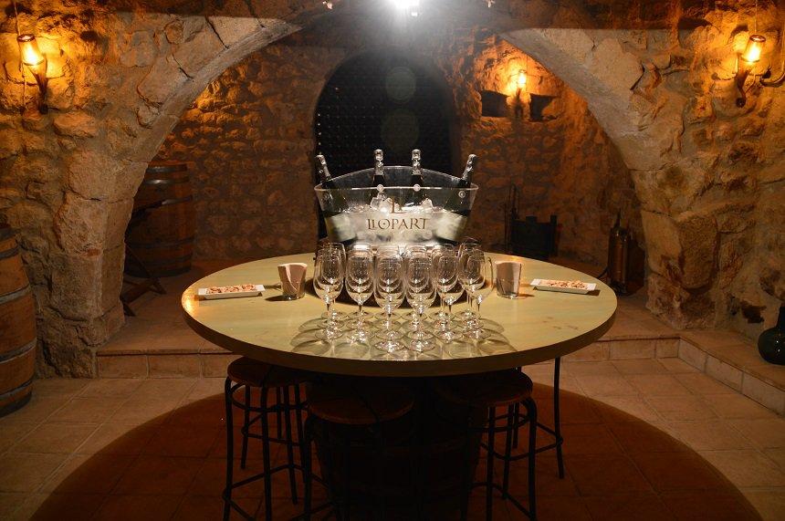 Cava in wijngebied Penedès