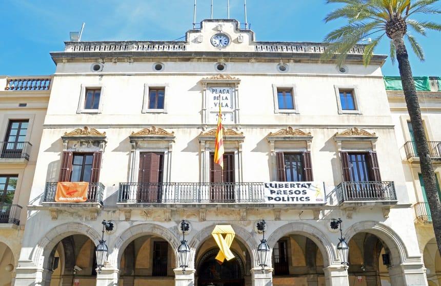 Het stadhuis van Vilanova