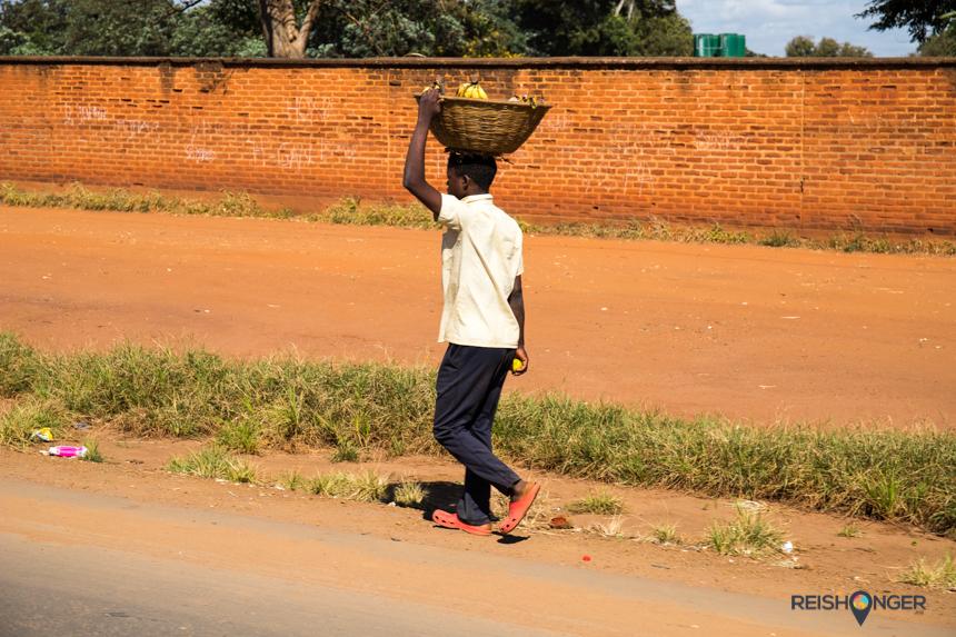 In de straten van Lilongwe is genoeg te zien