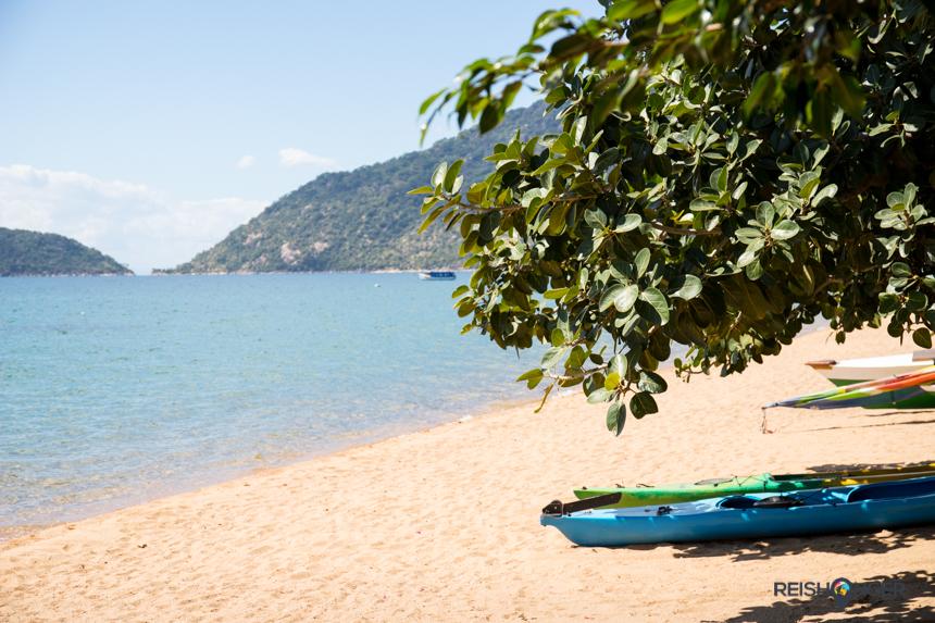 Zelfs het vasteland van Malawi oogt idyllisch