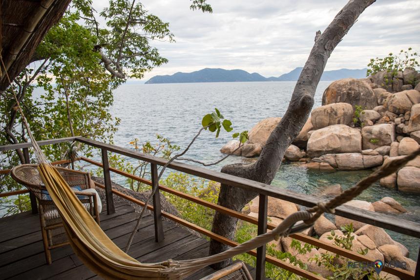 Hangmatje en een biertje, meer heb je niet nodig op Mumbo Island