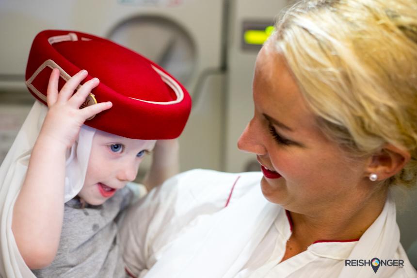 Emirates met kinderen