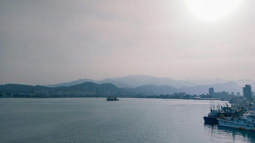 Uitzicht op Seoraksan National Park in Zuid-Korea