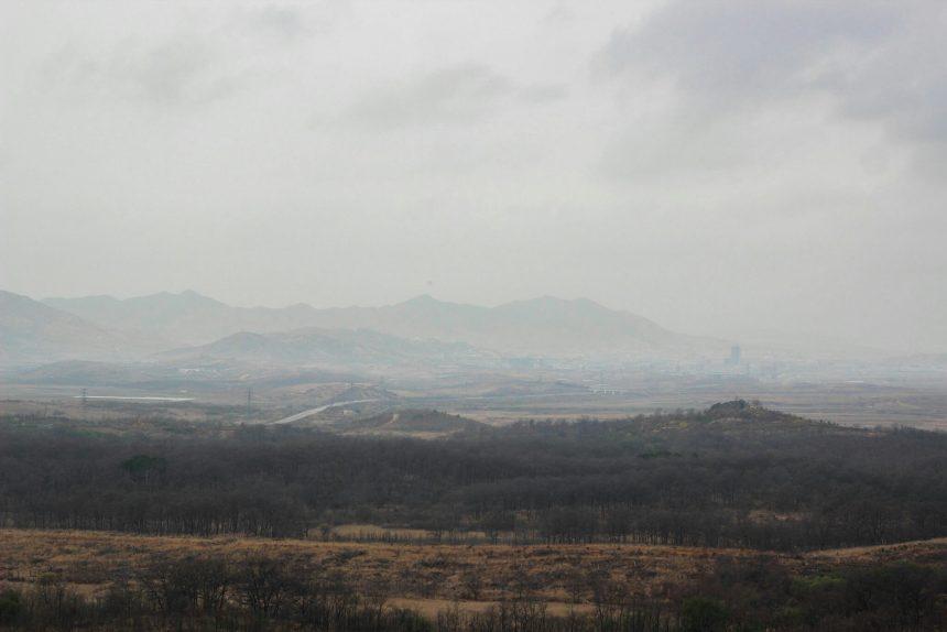 Noord-Korea vanaf het Dora Observatory
