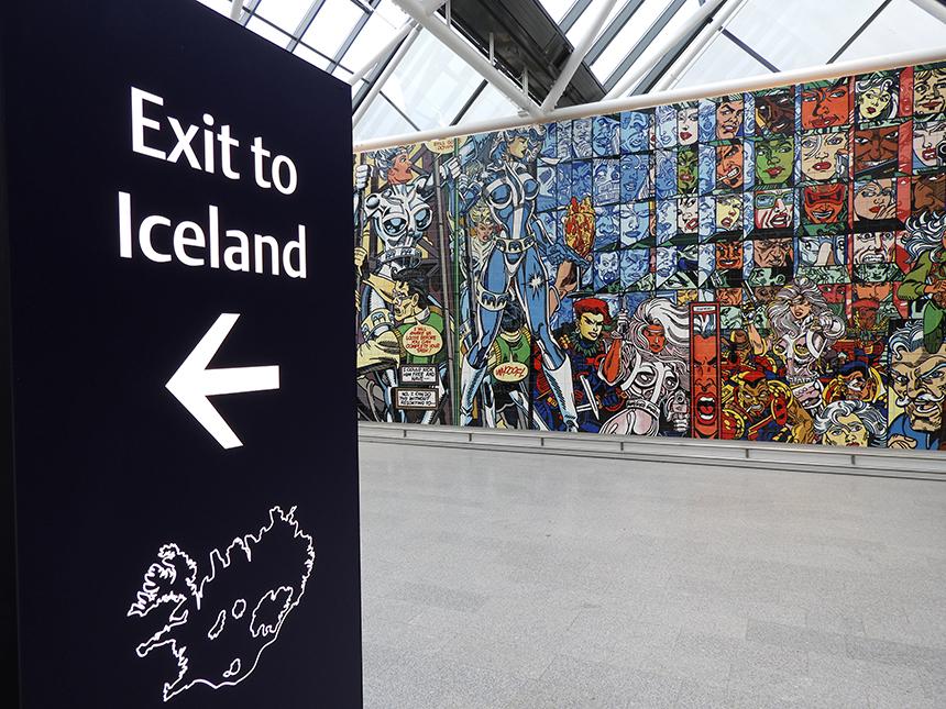Met WOW air naar Reykjavik