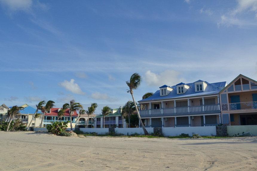 Orient Bay op Sint Maarten