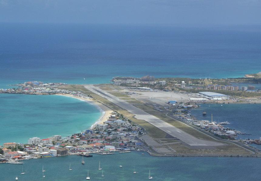 Princess Juliana International Airport op Sint Maarten