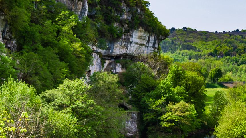 De klif van Roque Saint Christophe