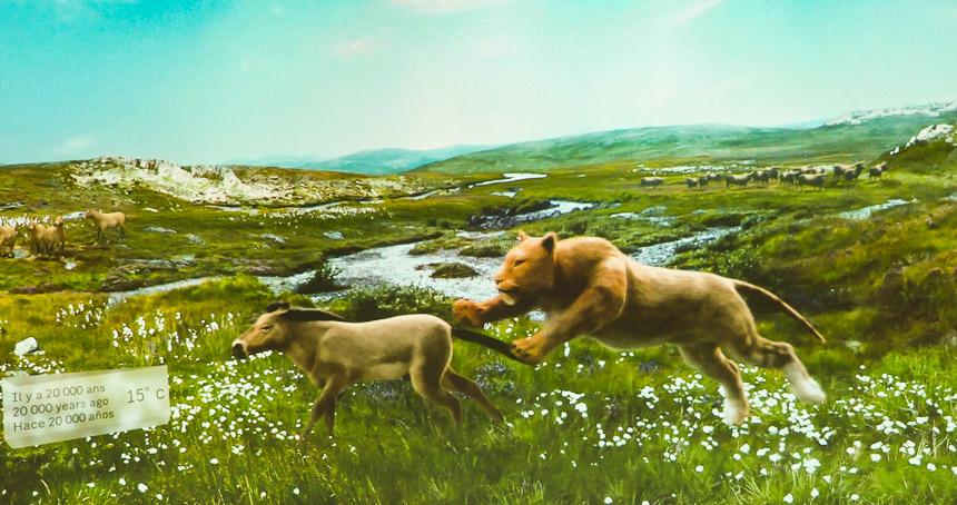 Lascaux 4: een fraaie animatie van de vallei 20.000 jaar geleden