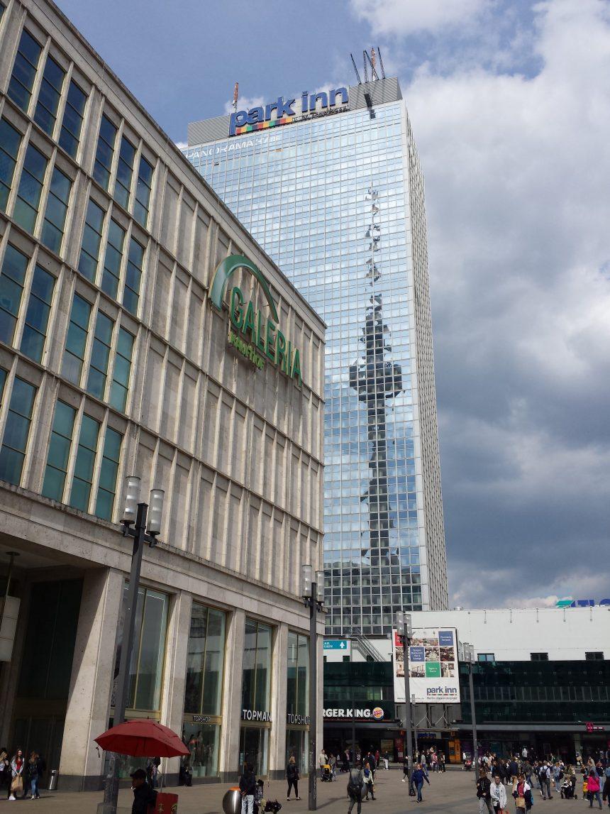 Panoramapunt Park Inn hotel Berlijn