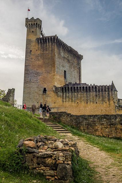 het kasteel van Commarque, een van de tastbare herinneringen van de Dordogne