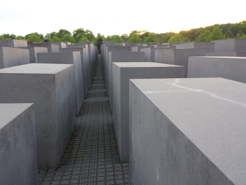 Holocaust Denkmal in Berlijn
