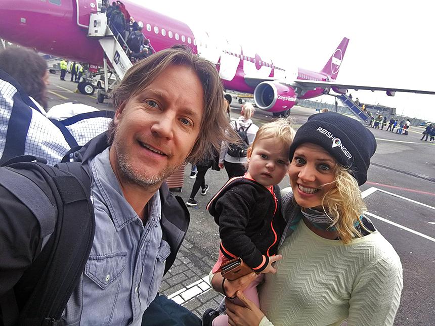 Met het gezin naar IJsland