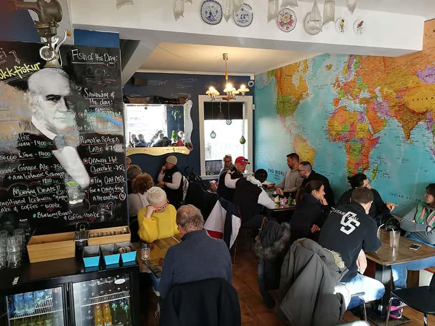 Restaurantje in Reykjavik