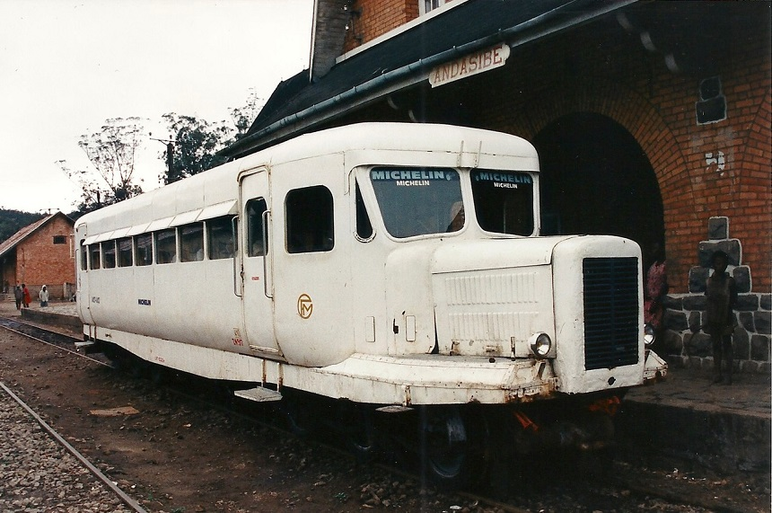Michelin-trein Madagaskar