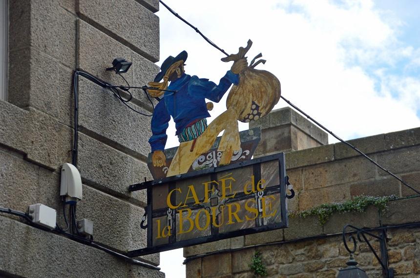Een uithangbord in piratenstad Saint-Malo