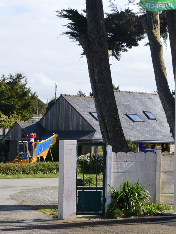 Flower Camping Longchamp in Saint-Lunaire, Bretagne
