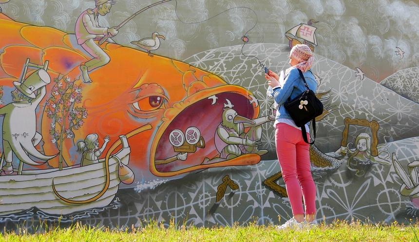 Street Art om op te eten in Centro de Portugal!